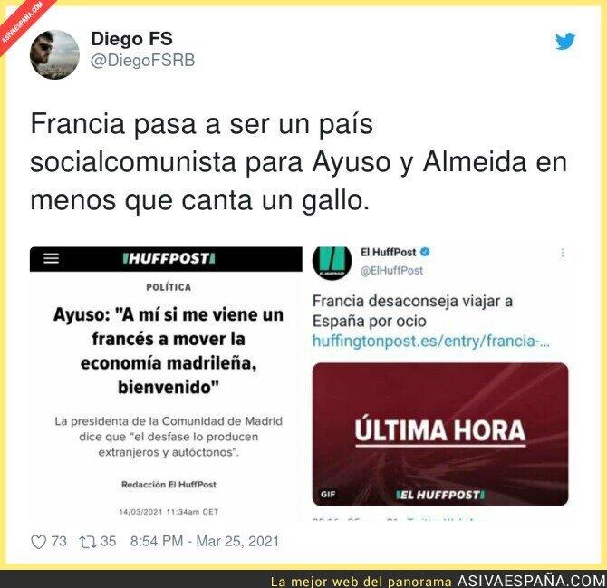 665335 - Francia no ve con buenos ojos a España