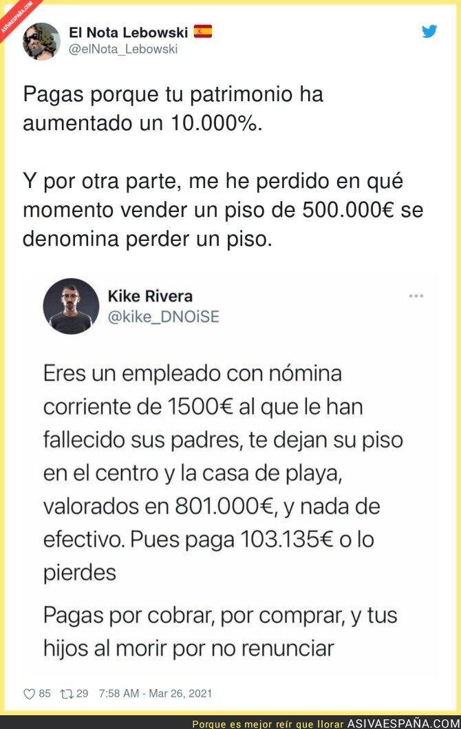 665774 - Menudo drama de vivir con 1500€ a tener un piso de 700.000€