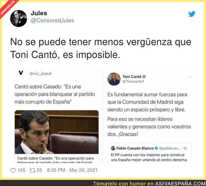 666731 - Es tremendo lo de Toni Cantó