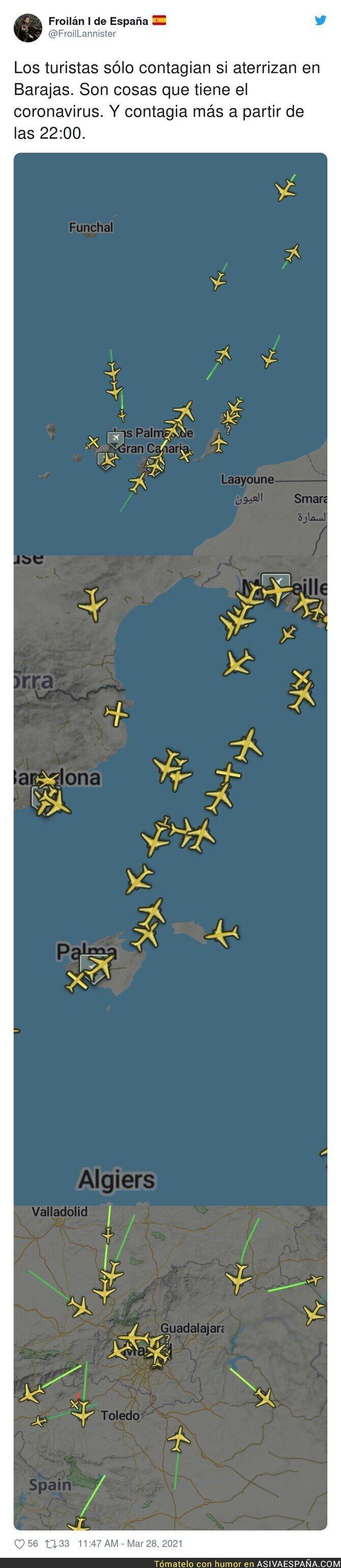 669004 - Así está el panorama aéreo