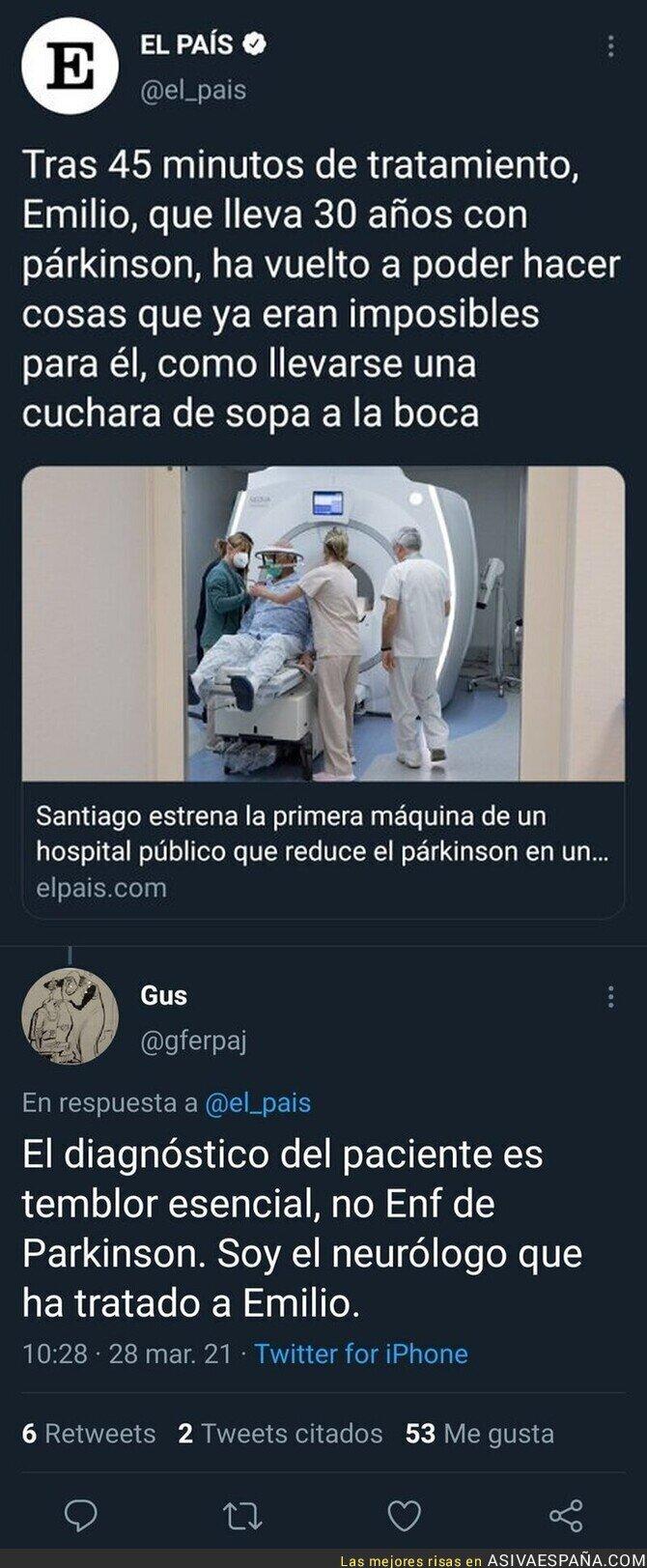 669196 - 'El País' haciendo de las suyas