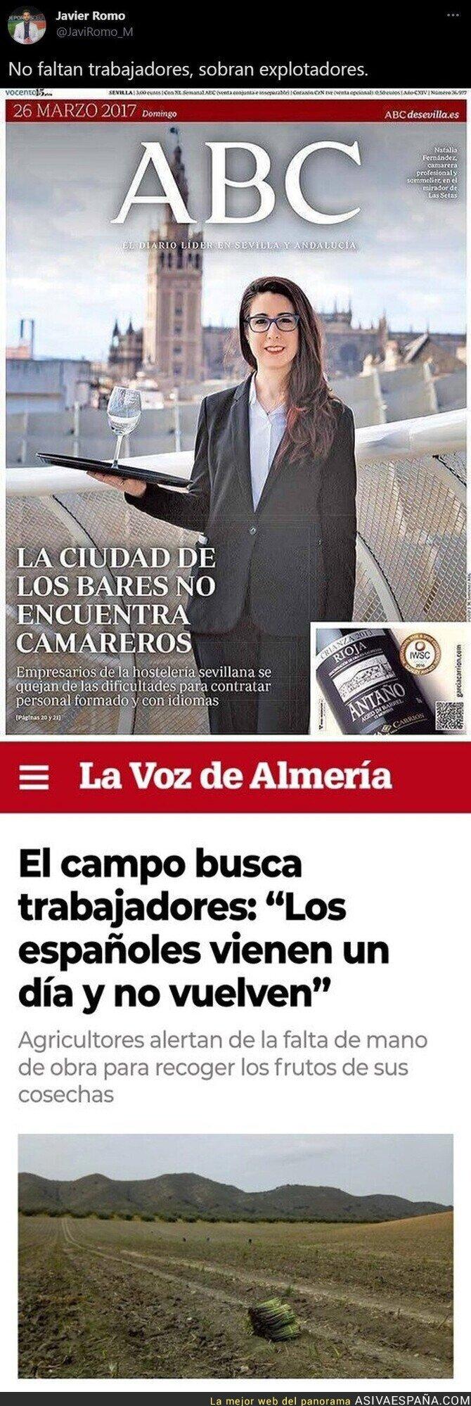 672046 - La misma historia de siempre con los españoles