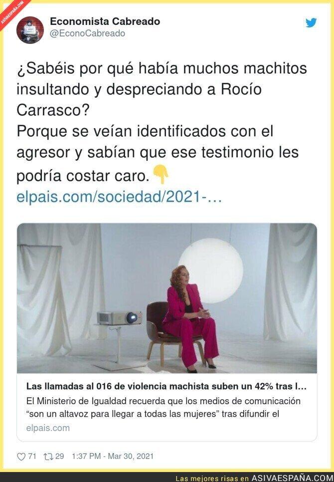 672148 - El testimonio de Rocío Carrasco sirve y para mucho