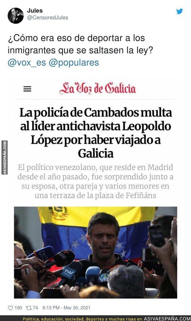 672782 - Leopoldo López debería aprender a cumplir la ley