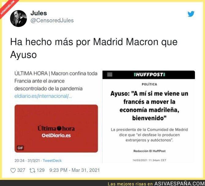 675024 - Macron salva a España de muchas más muertes