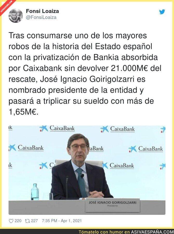 676556 - Empiezan a saberse cositas de la fusión Caixabank-Bankia