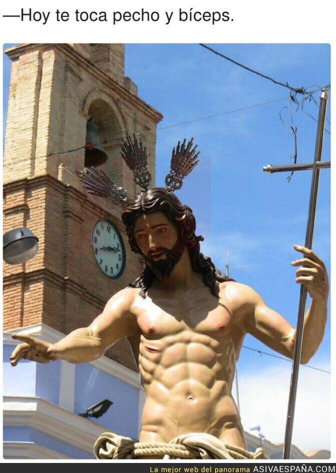 678779 - Cristo está mamado