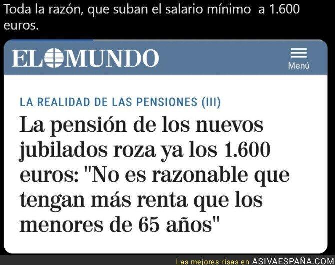 679840 - La pensión de los nuevos jubilados