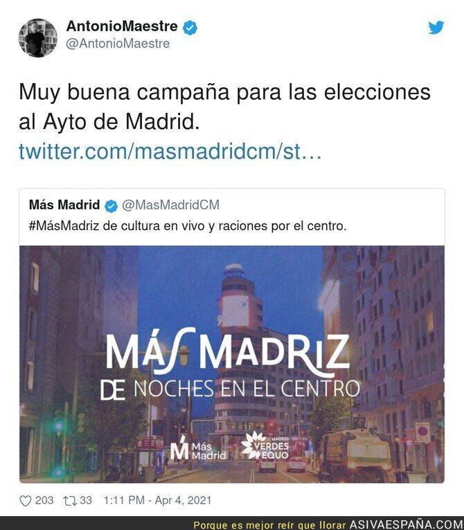 680634 - Más Madrid más preocupado por su votante de Malasaña y por nada más