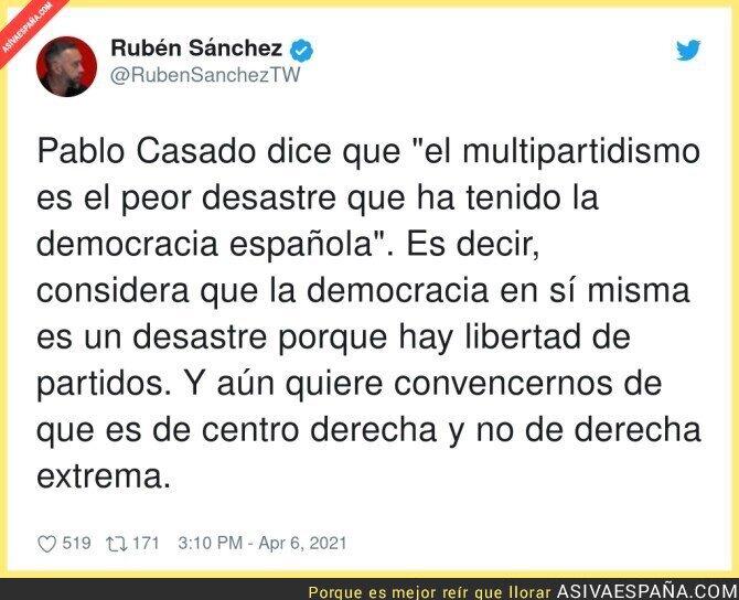684118 - Lo que le gusta una buena dictadura a Pablo Casado