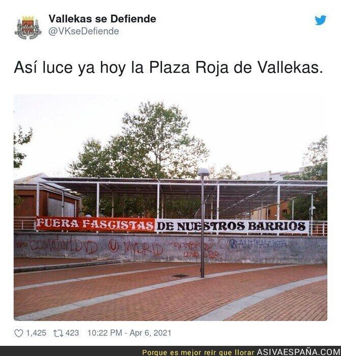 685023 - Vallekas ante la llegada de Santiago Abascal