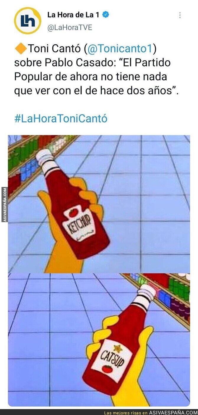 688073 - ¿A quién trata de convencer Toni Cantó?