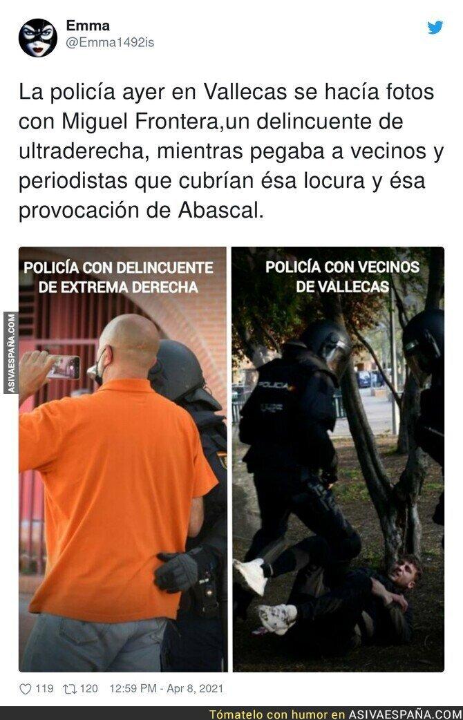 688639 - La doble cara de la Policía en Vallecas