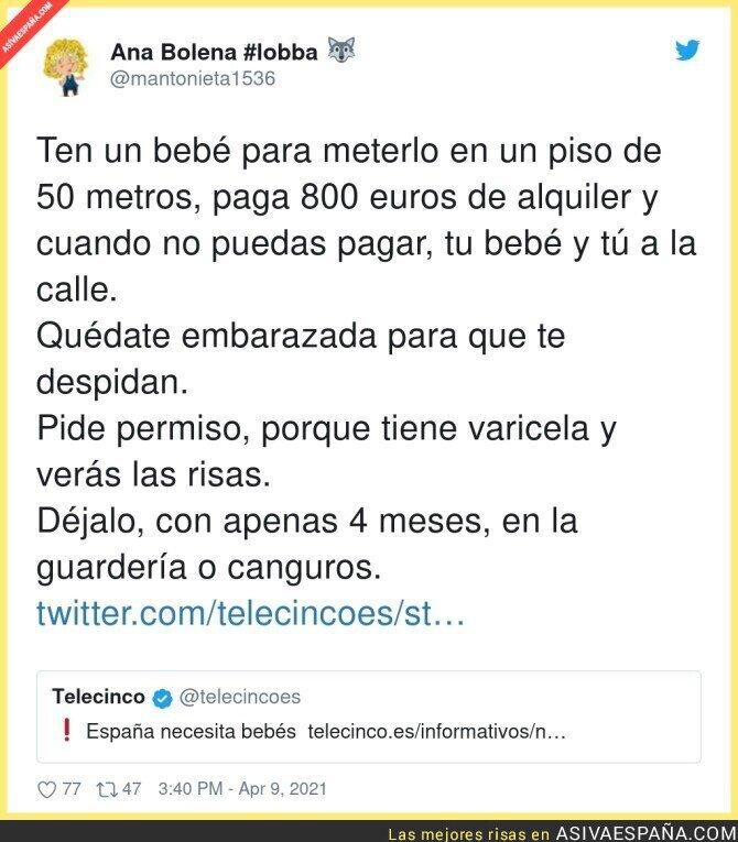 690683 - Tener bebés en España es misión casi imposible