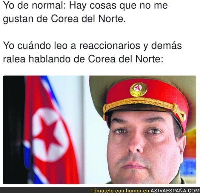 691407 - Sale el norcoreano que llevo dentro