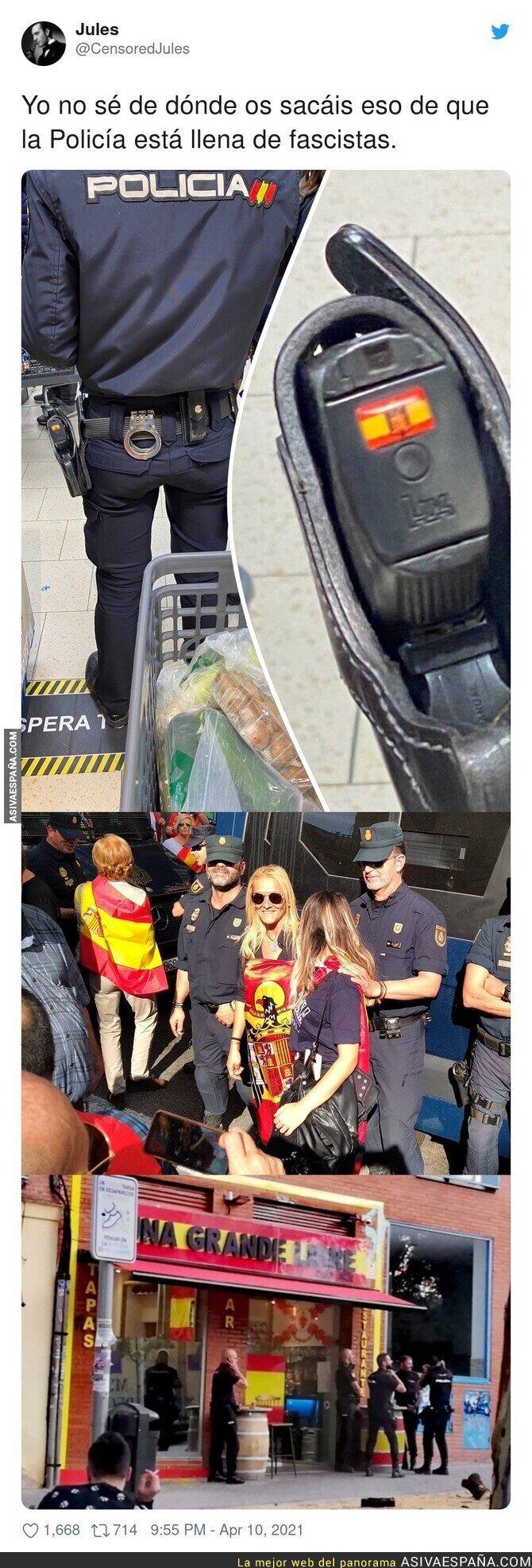 692594 - Hay que hacer una limpia importante en la policía