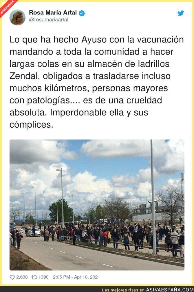 692933 - Irresponsabilidad total de Isabel Díaz Ayuso