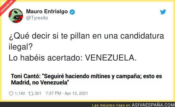 696300 - Ya tardaba en salir Venezuela