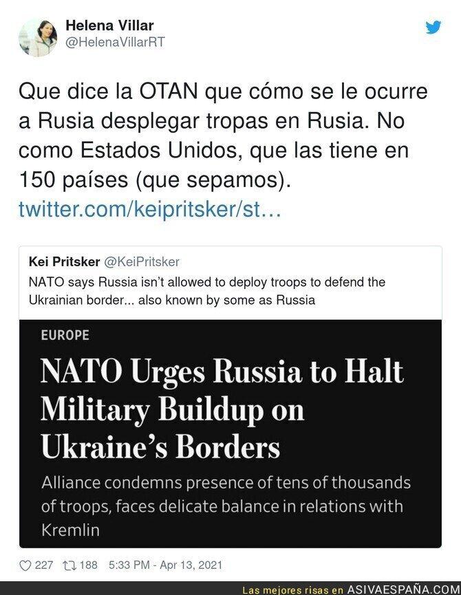 697270 - Las preocupaciones de la OTAN
