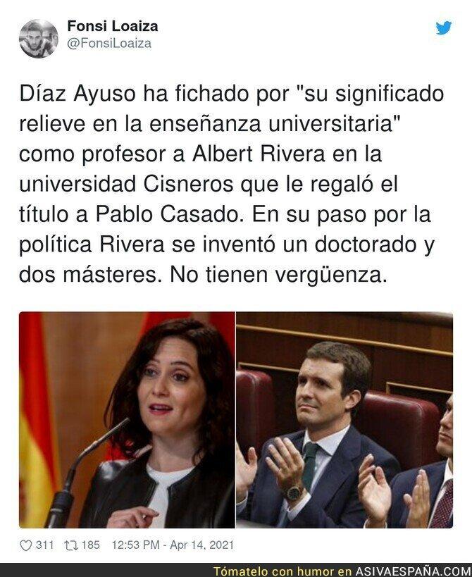 698490 - Los méritos del profesor Albert Rivera