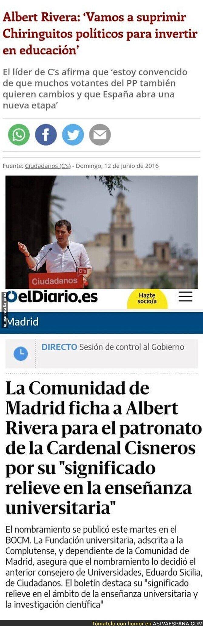 698697 - Vaya con Albert Rivera...