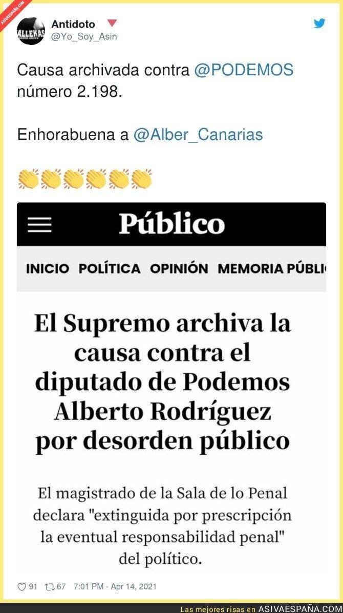 699080 - Otra causa archivada para la colección de Podemos
