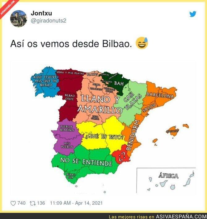 699183 - El resto de España desde Bilbao