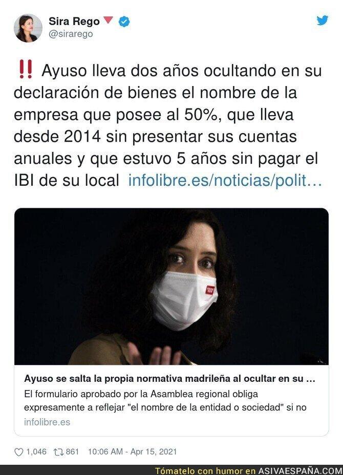 700278 - Un escándalo de Isabel Díaz Ayuso que se tenía bien callado
