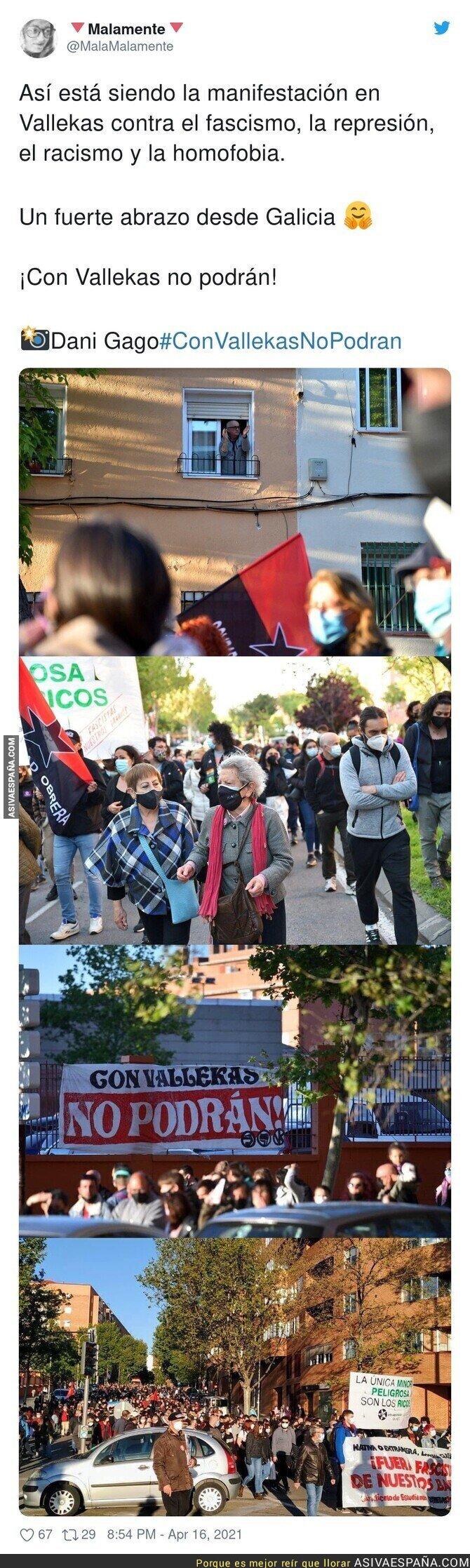 702540 - El fascismo no puede contra Vallekas
