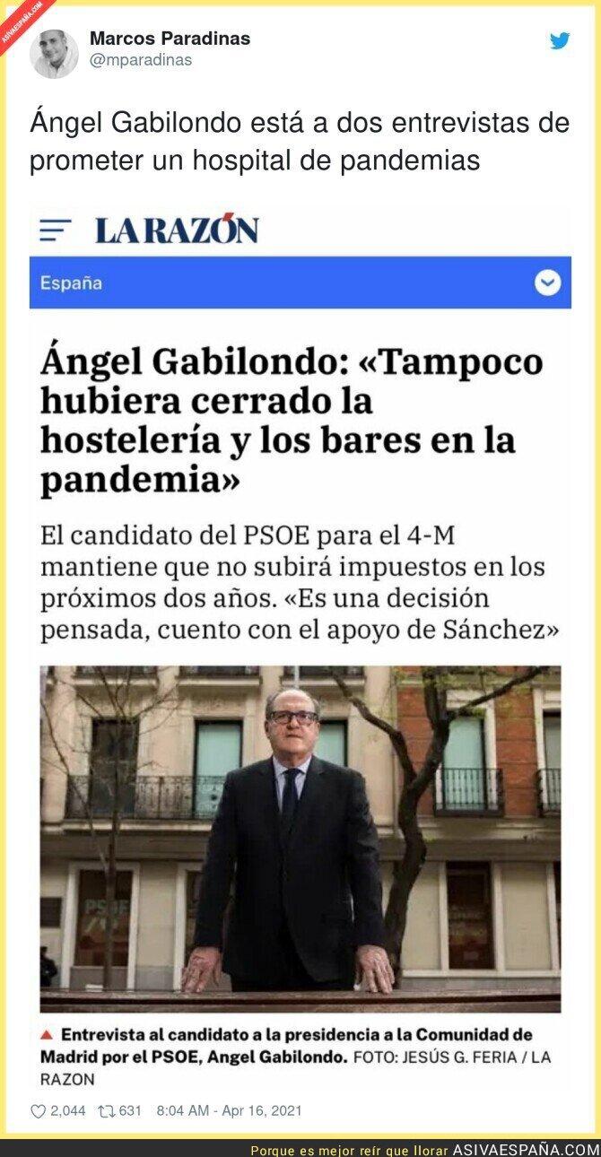 703650 - Ahora se entiende el silencio de Ángel Gabilondo, es mejor que se quede callado