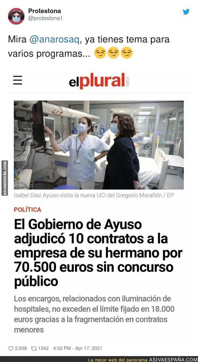 703942 - Otro escándalo más para Isabel Díaz Ayuso