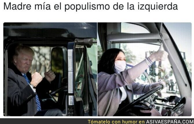 706189 - Isabel Díaz Ayuso se suma al furor del Euro Truck Simulator