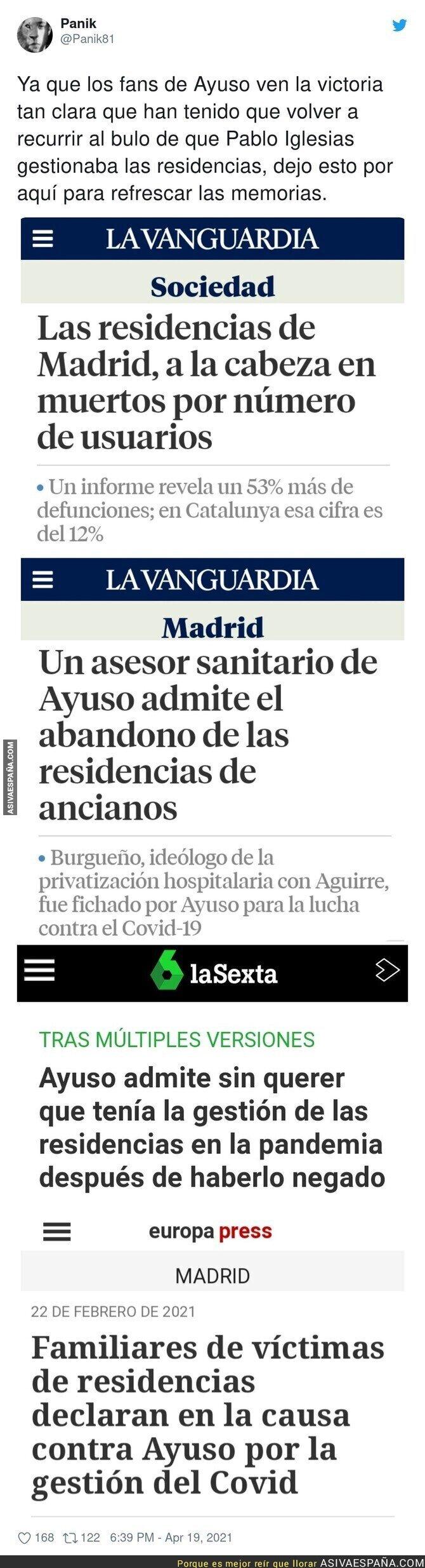 706579 - Sale a la luz finalmente los responsables de las residencias en Madrid