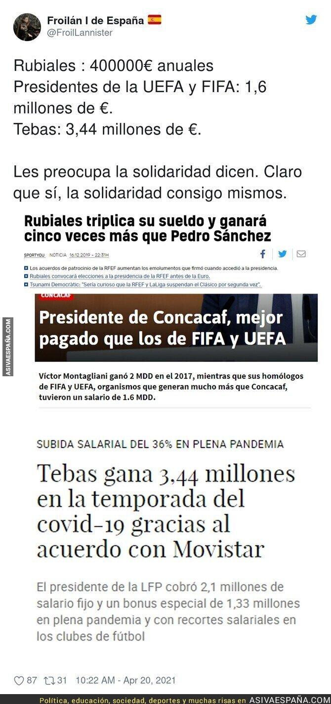 707519 - El salario de los dueños del fútbol