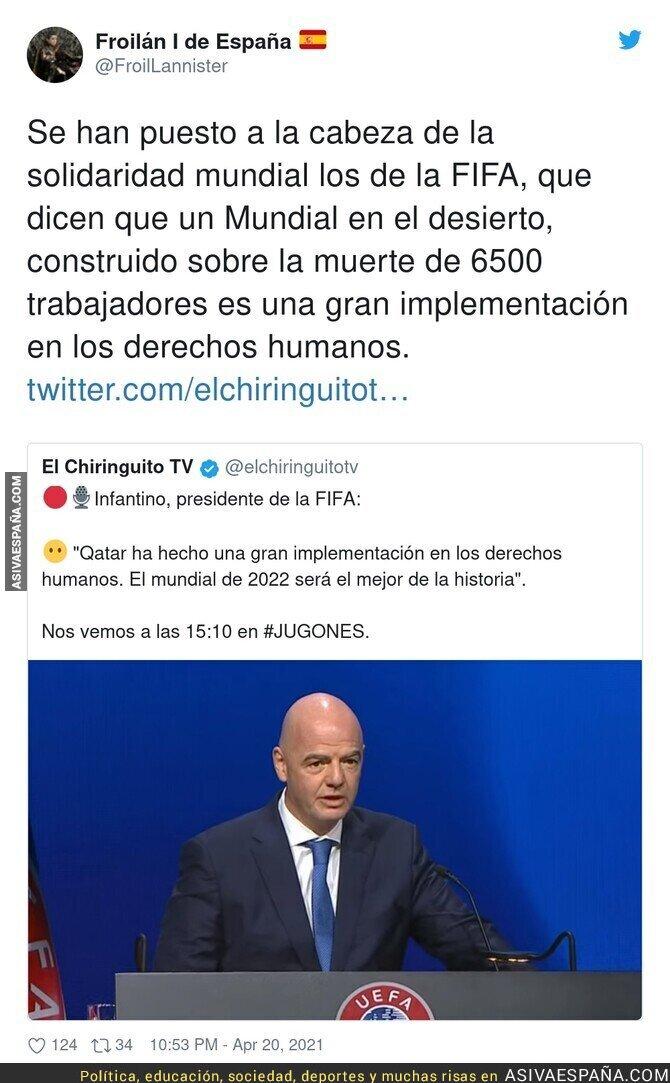 709357 - La FIFA tiene mucho que callar