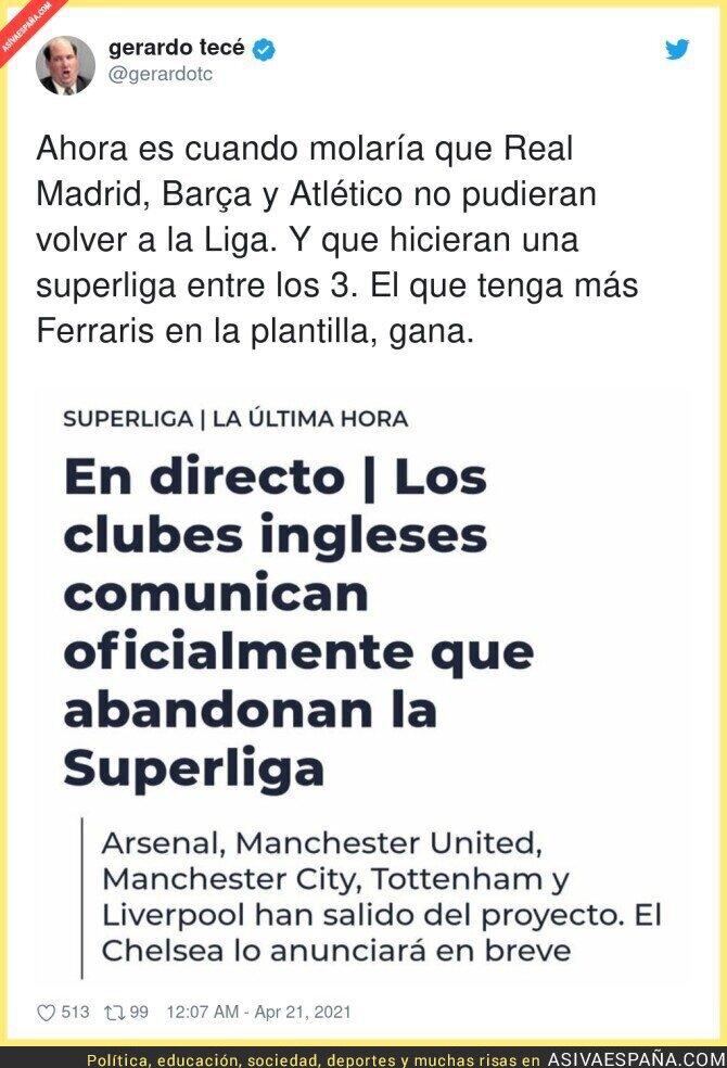 709411 - El fracaso absoluto de la Superliga de Florentino Pérez