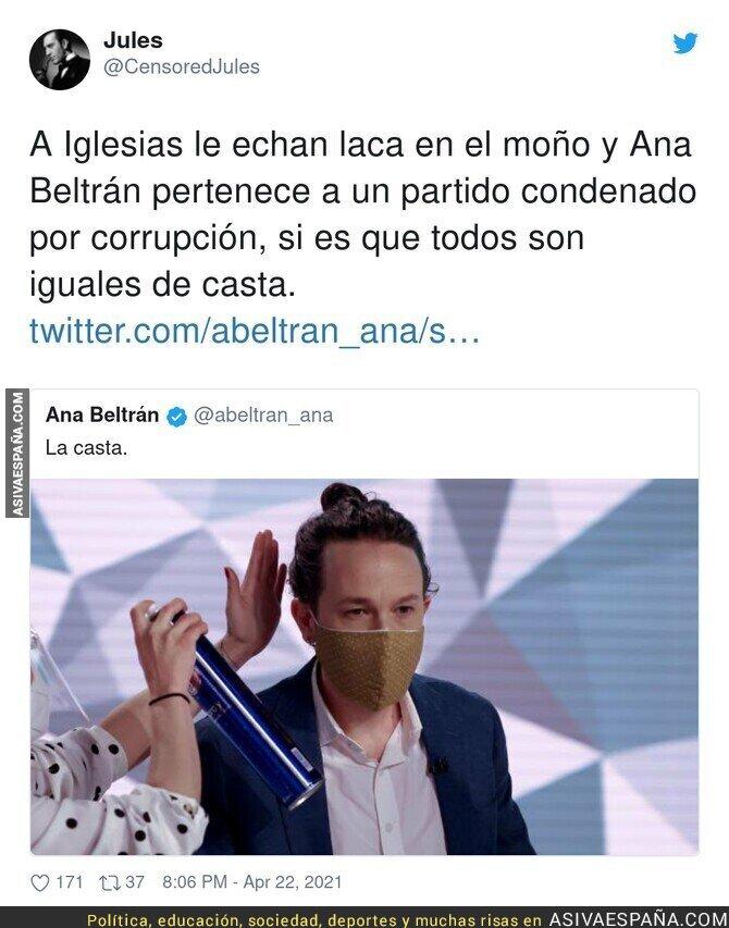 713480 - Lamentable Pablo Iglesias se echa laca esto es insostenible