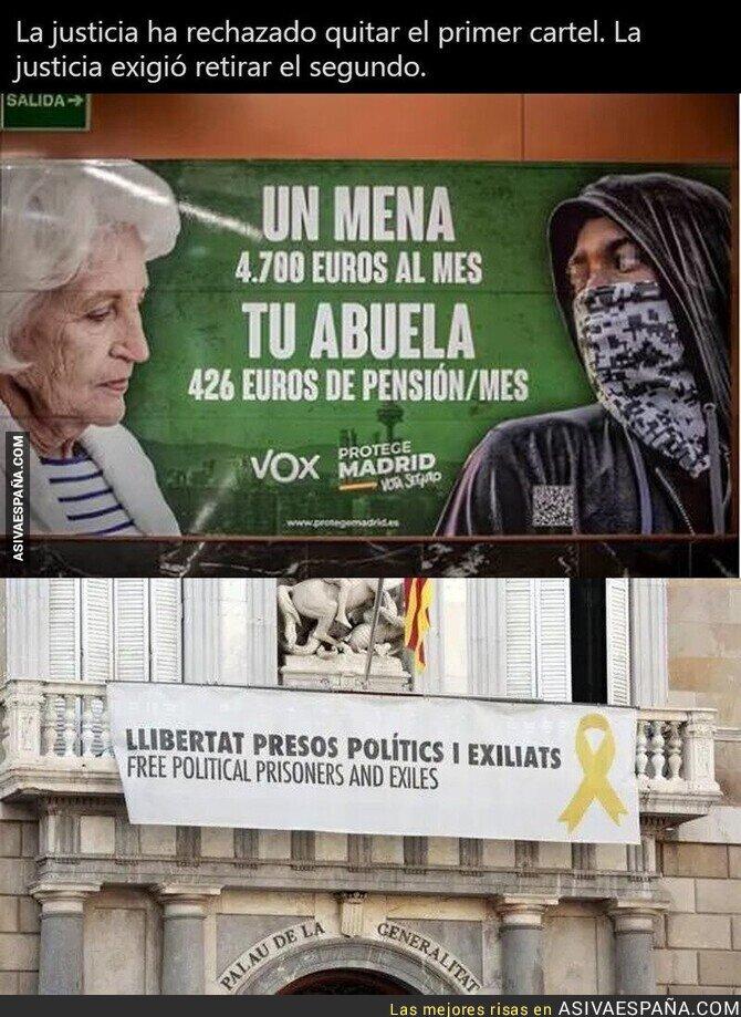 713639 - La Justicia de España es un sin sentido