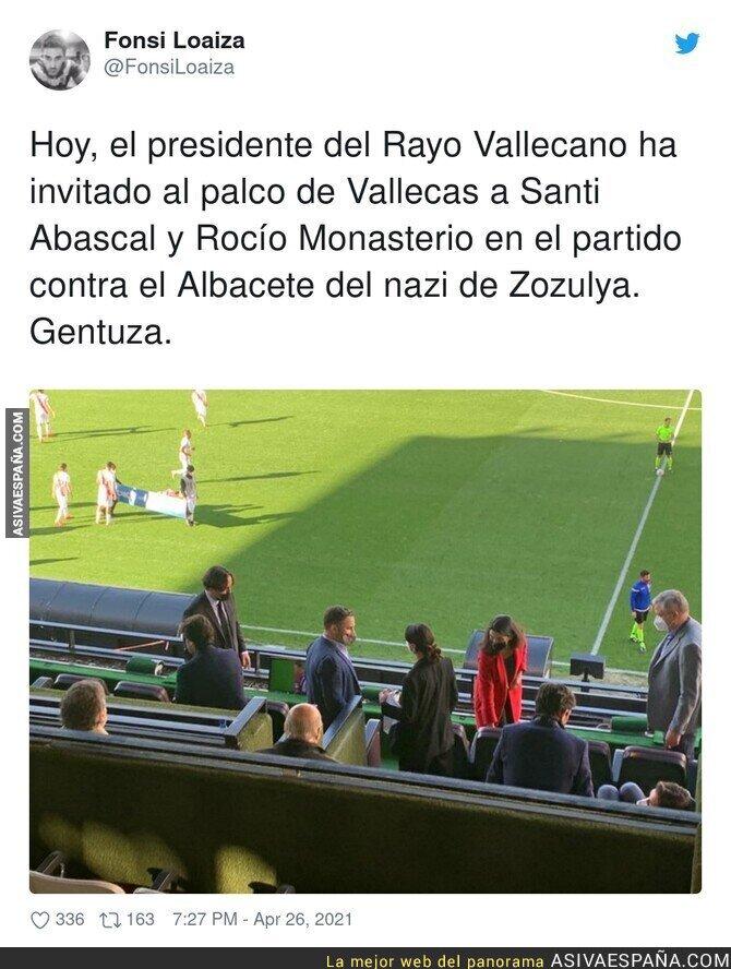 724029 - Con público no se atreve a pisar el estadio del Rayo