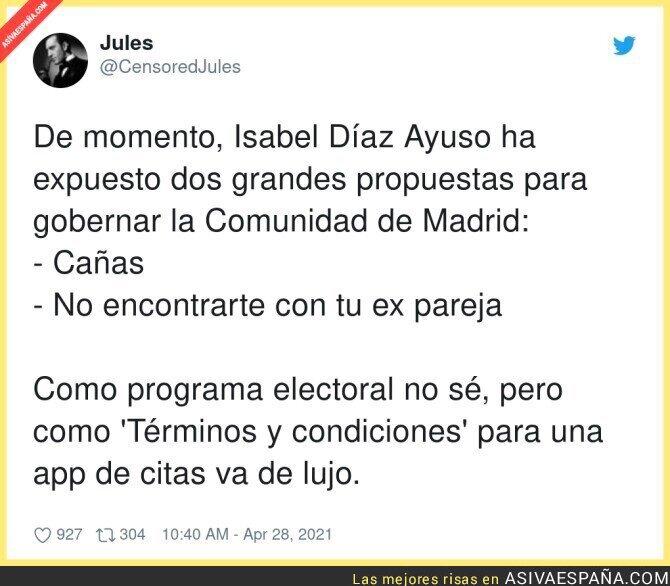 727437 - La Madrid de Isabel Díaz Ayuso