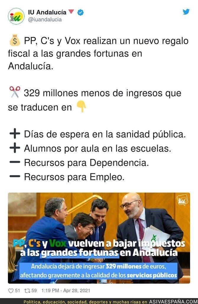 727983 - Así va Andalucía con el trifachito