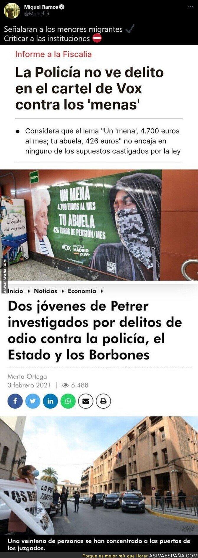 729474 - La justicia en España en dos noticias