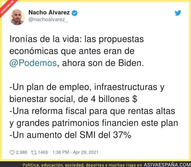 729886 - Joe Biden sería un narcoterrorista bolivariano en España