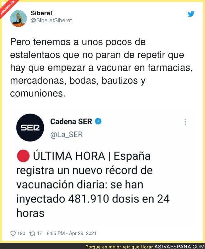 730270 - El ritmo de vacunación incansable en España