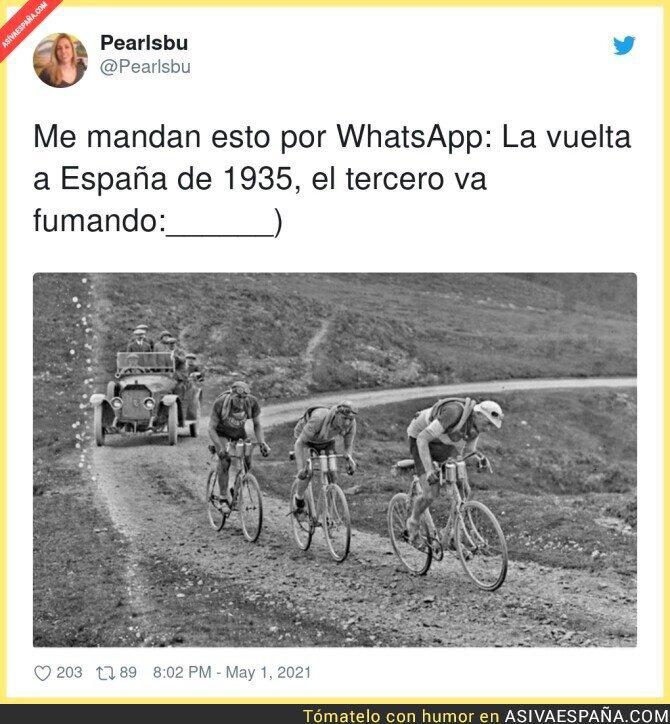 733798 - El genial Tarangu. Uno de los grandes del ciclismo español