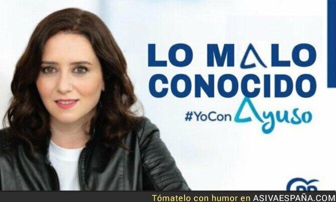 734522 - El cartel final de campaña de Isabel Díaz Ayuso