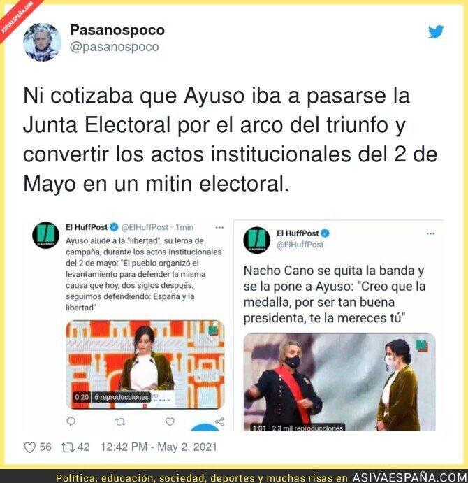 735090 - Isabel Díaz Ayuso no respeta nada