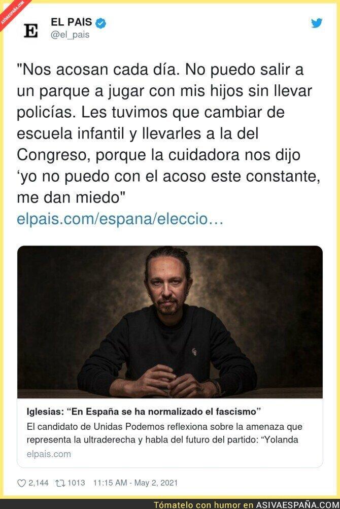 735270 - La dura vida de Pablo Iglesias y su familia