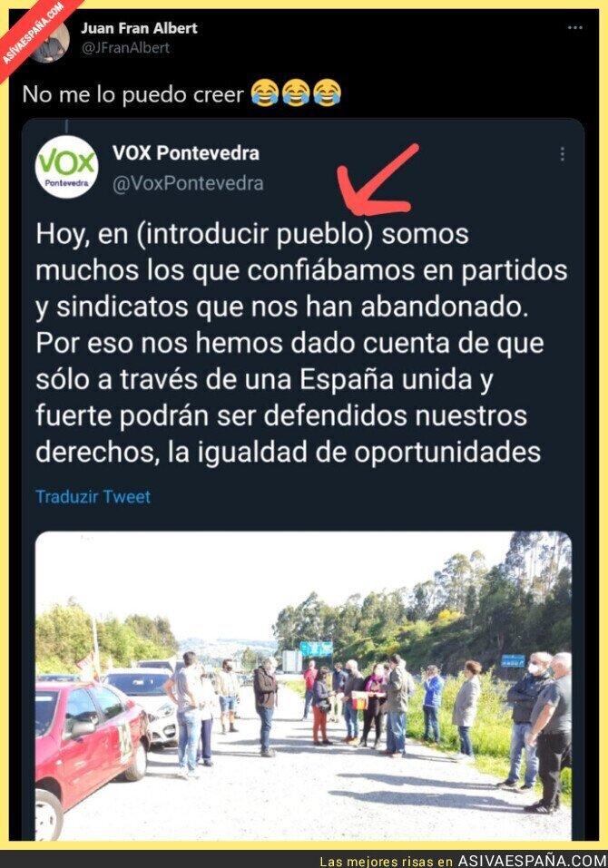 737957 - La poca vergüenza de VOX en un tuit