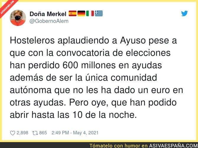 740945 - Lo de los hosteleros en Madrid es de traca